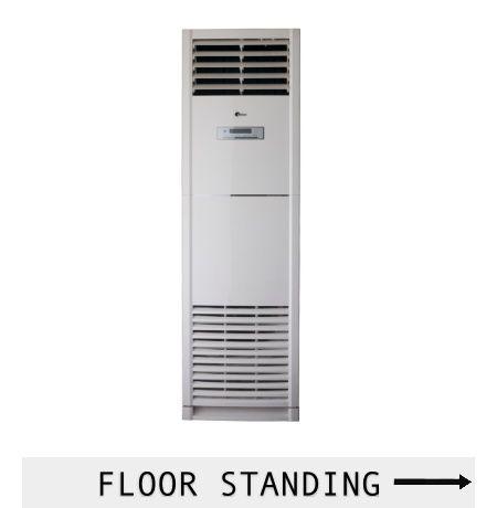 Air conditioner floor standing seri GA adalah pilihan yang tepat jika pemasangan secara permanen tidak memungkinkan atau diinginkan, tanpa mempengaruhi performa pendingingan.