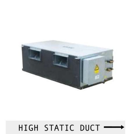 AUX DUCT CONNECTION HIGH STATIC