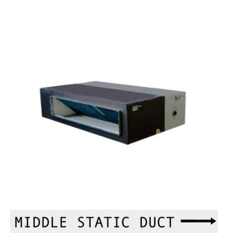 MIDDLE STATIC DUCT CONNECTION