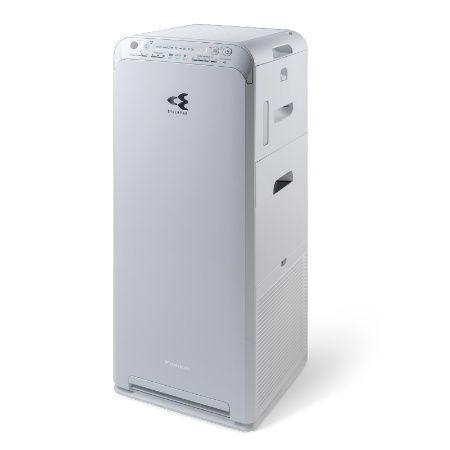 MCK55TVM6 Double Method Air Purifier Daikin menyaring udara di dalam menggunakan teknologi streamer dan udara diluar disaring menggunakan Active Plasma Ion ketika udara dilepaskan. Tipe ini memiliki fungsi kontrol kelembapan untuk menjaga kulit Anda tetap terjaga kelembapannya.