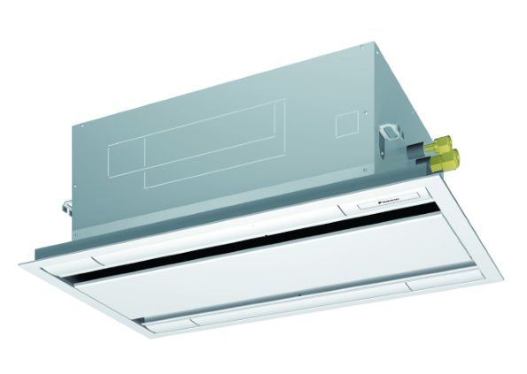 Thin, lightweight, and easy to install in narrow ceiling spaces