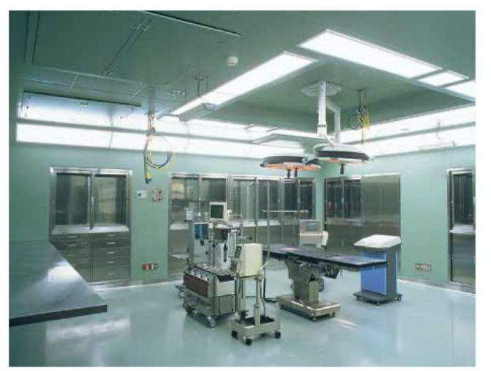 Filtration Class 10,000 clean room condition achieved with a HEPA filter (sold separately)  The low pressure-loss HEPA filter (sold separately) demonstrates superior dust filtering performance and easily accomplishes an air cleanliness of class 10,000.