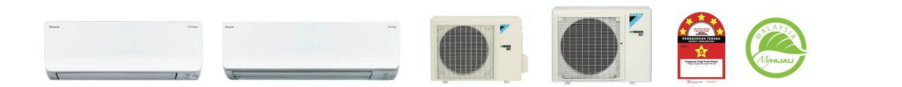 Daikin berkomitmen untuk terus menghadirkan inovasi yang lebih baik untuk anda. Dengan fitur Fast Cooling, AC anda akan mampu mendinginkan ruangan 3'c lebih rendah dalam waktu 5 menit atau 28 % lebih cepat dibandingkan AC Non-Inverter. Anda tidak perlu menunggu lama untuk merasakan kenyamanan dari AC Daikin dan anda dapat menikmati nyamannya udara ruangan dengan segera.